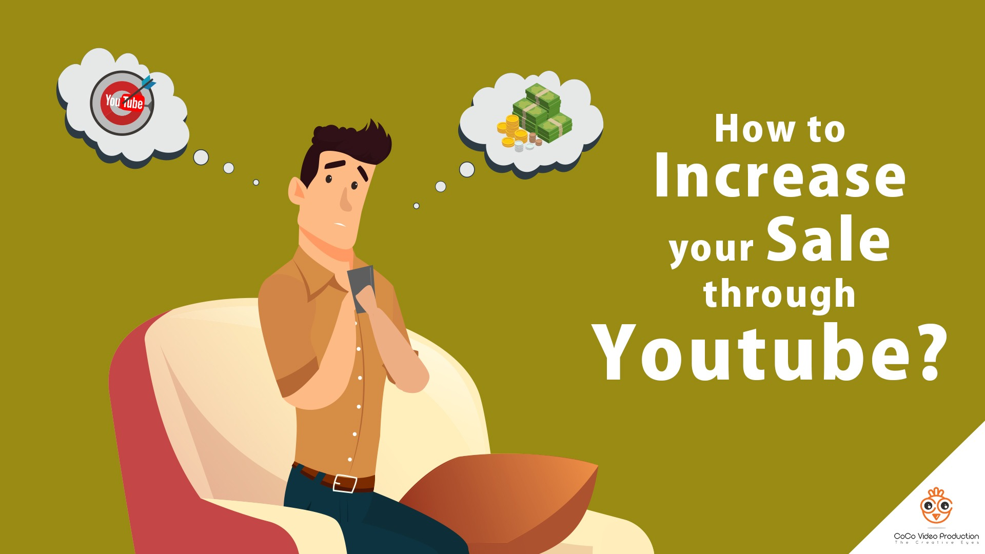 increase your sales through Youtube