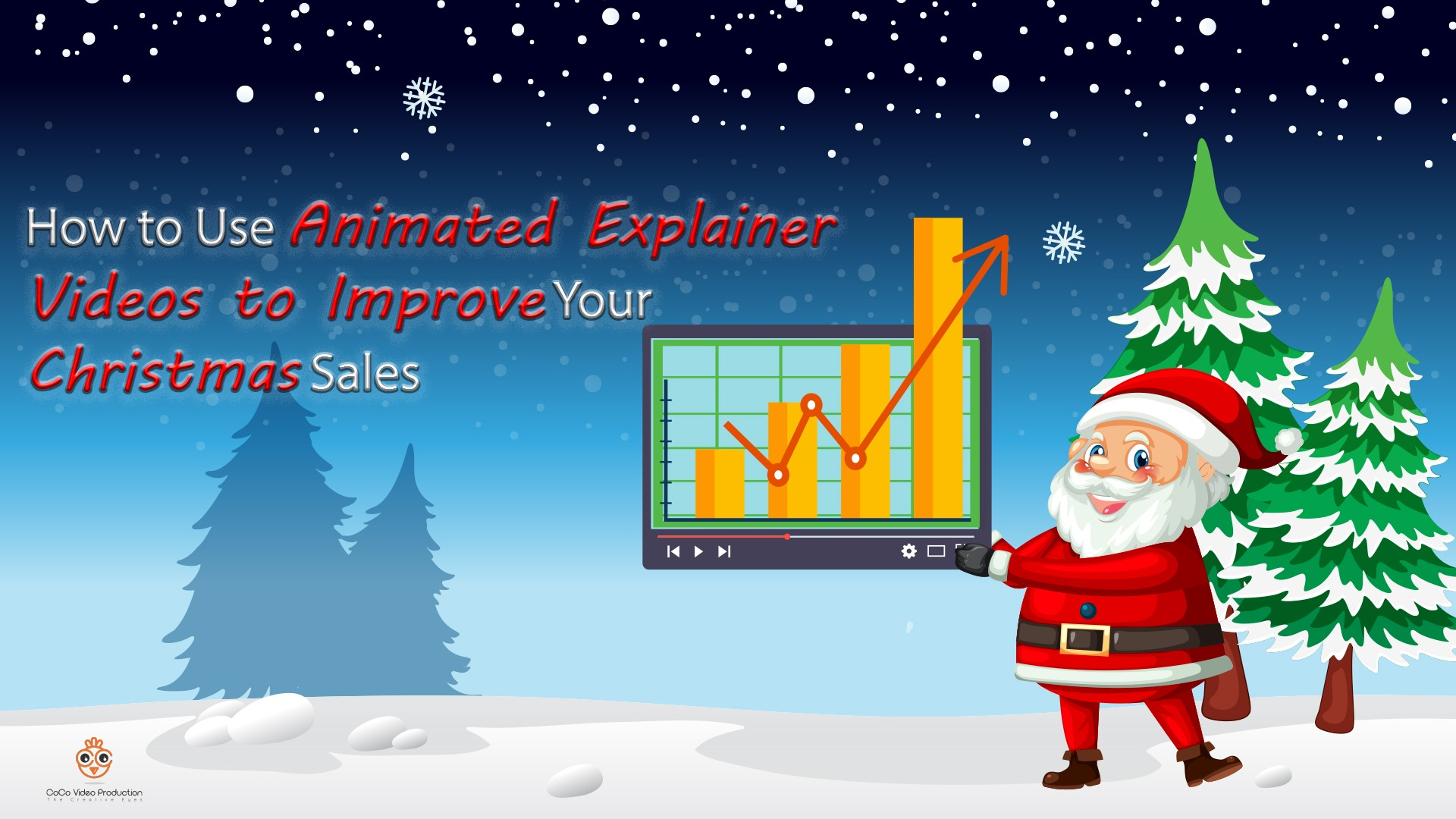 How to Use Animated Explainer Videos to Improve Your Christmas Sales